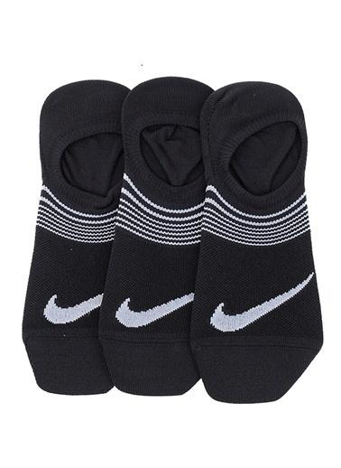 Nike Spor Çorap || 3'lü Paket Siyah